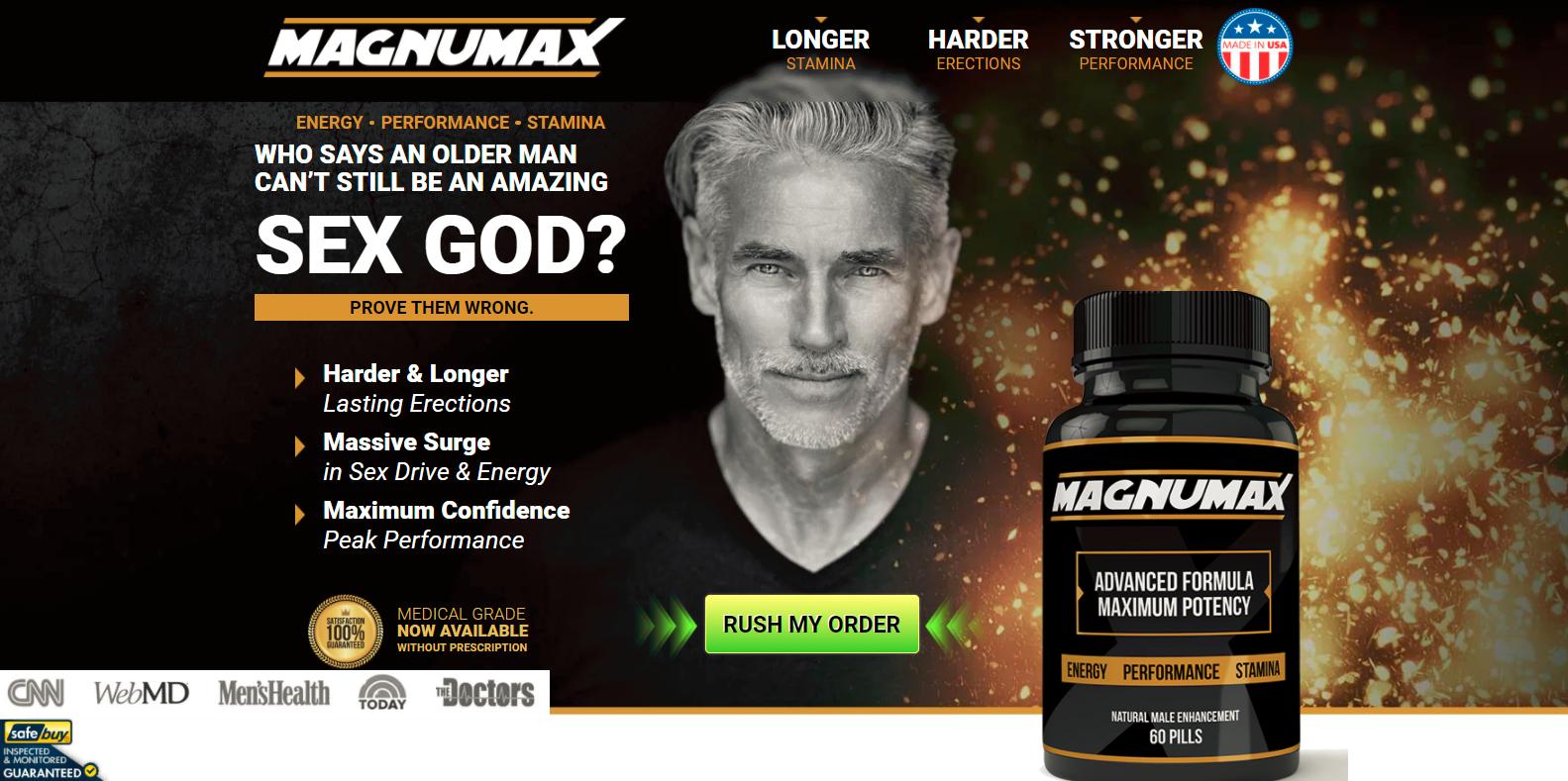 Magnumax y Testo Ultra Tienda