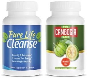 Garcinia Cambogia y Pure Life Cleanse Supermercado
