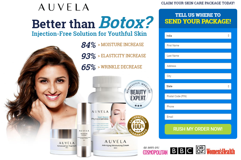 Auvela Skincare Puntos de venta