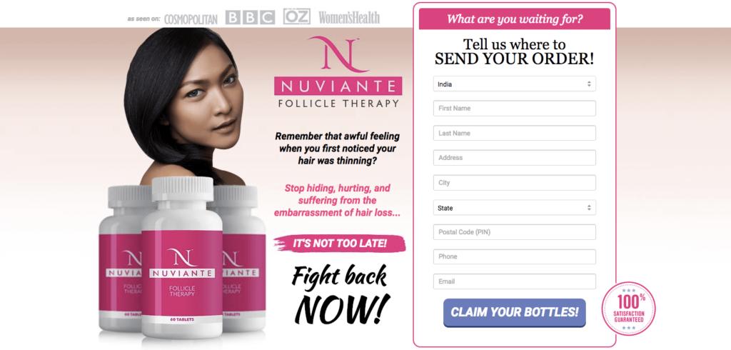 Nuviante Follicle Therapy Precio